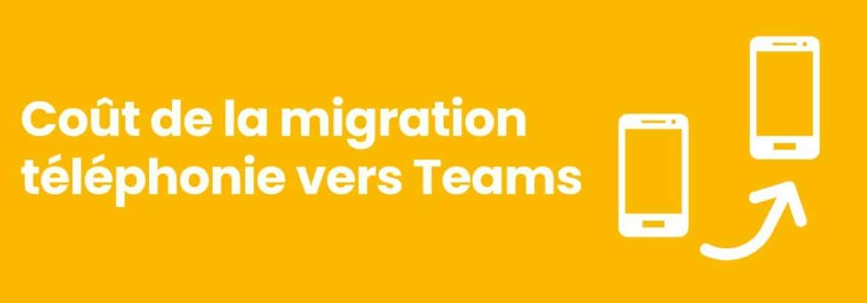 Migration téléphonie teams