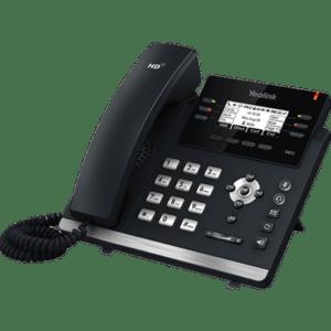 Téléphone SIP Yealink 42S Écran noir et blanc 2.7 pouces