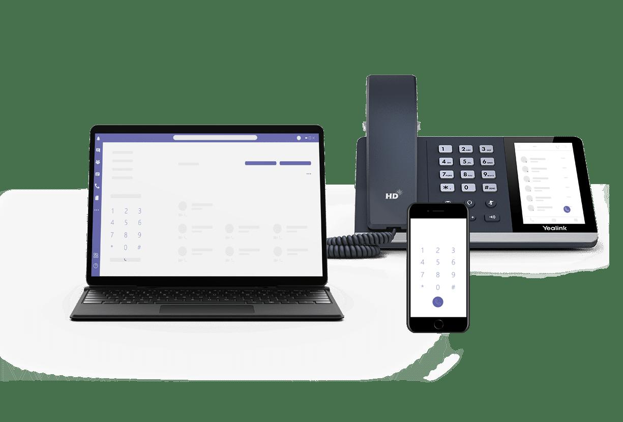 Telephone TEAMS IP TeamsPhony